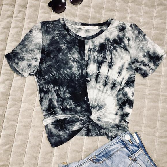 dbb17584 Heart & Hips Tops | Ragstock Heart Hips Tie Dye Crop Tshirt | Poshmark